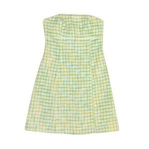 Lilly Pulitzer Tweed Strapless Dress